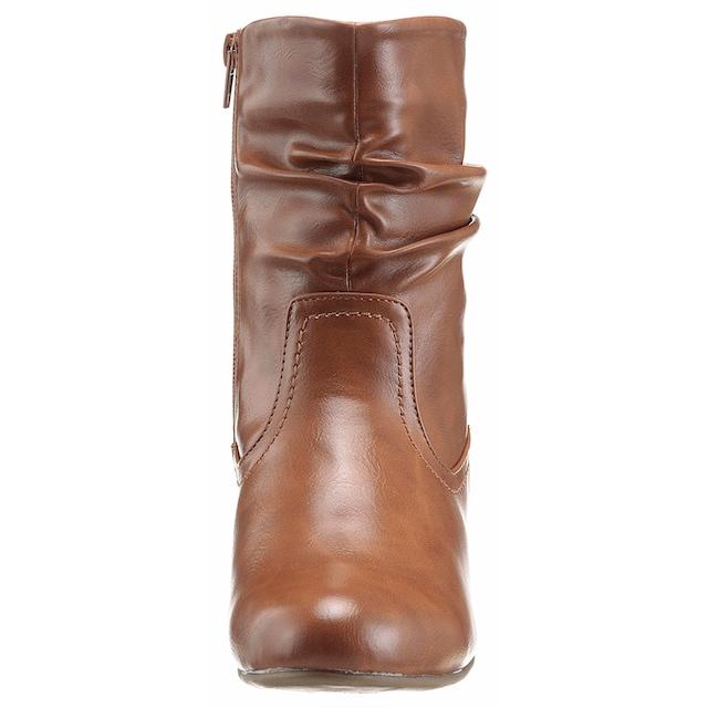 City Walk Damen Boots Chelsea Boots Stiefel mit Reißverschluss Neu mit Karton