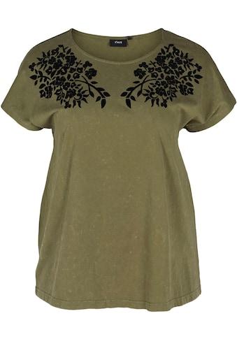 Zizzi T-Shirt, mit Details kaufen
