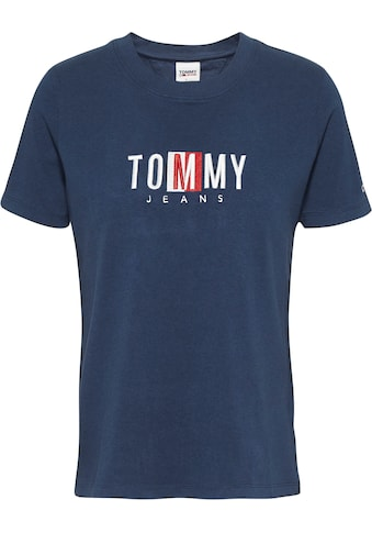 Tommy Jeans Rundhalsshirt »TJW REGULAR TIMELESS BOX TEE«, mit gesticktem Tommy Jeans Logo-Schriftzug kaufen