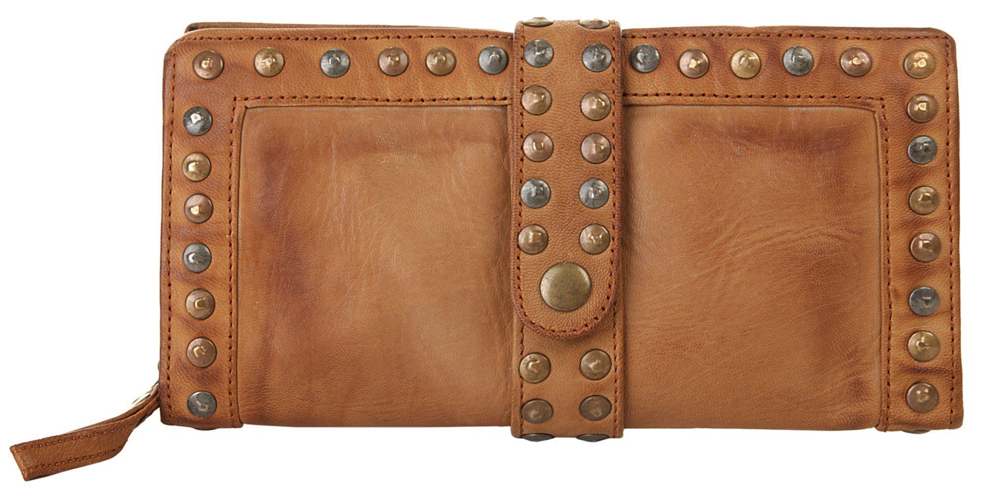 forty° Abendtasche   Taschen > Handtaschen > Abendtaschen   Braun   Leder   Forty°