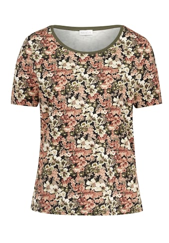 Mona Kurzarmshirt, mit floralem Druck kaufen