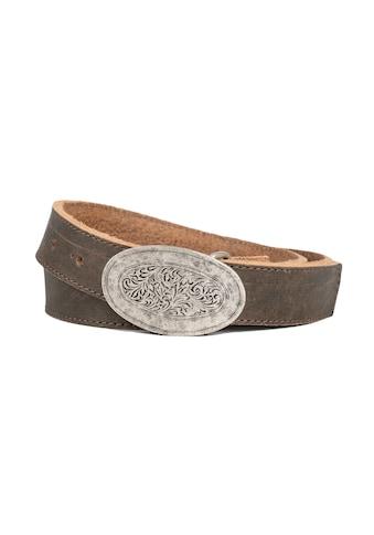 Der Trachtler Ledergürtel »Hias«, mit filigraner Koppelschließe kaufen