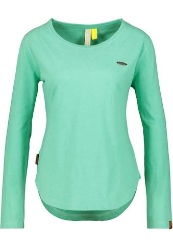 Alife & Kickin T-Shirt »LeaAK A«, modisches Longsleeve mit Bogensaum& Rundhalsausschnitt kaufen