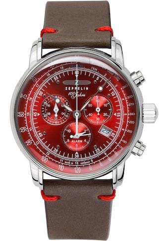 ZEPPELIN Quarzuhr »100 Jahre, Alarmchronograph, Edition, 8680-5« kaufen