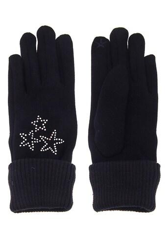 leslii Fingerhandschuhe mit glitzernden Sternen kaufen
