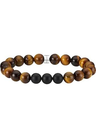BALDESSARINI Armband »Y2171B/90/GI«, mit Tigeraugen und Onyx kaufen