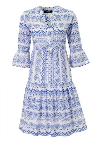 Aniston CASUAL Sommerkleid, im Folklore-Look - NEUE KOLLEKTION kaufen