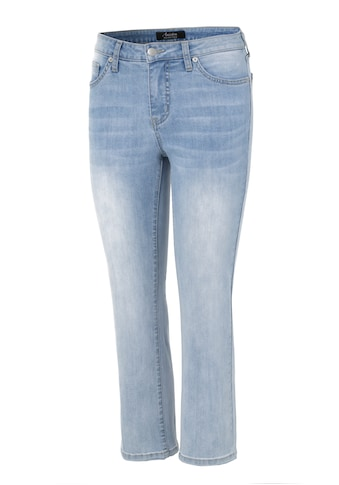 Aniston SELECTED Straight-Jeans, in verkürzter cropped Länge - NEUE KOLLEKTION kaufen
