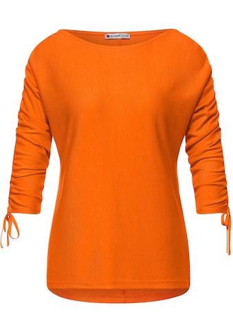 STREET ONE 3/4-Arm-Shirt, mit U-Boot Ausschnitt kaufen