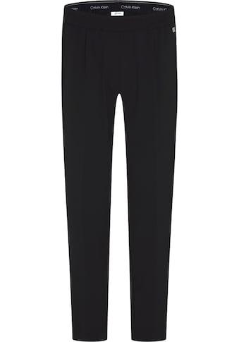 Calvin Klein Jerseyhose »CROP ELASTIC WAISTBAND CIG PAT« kaufen