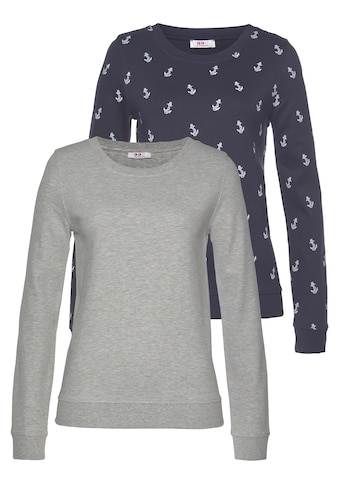 Flashlights Sweatshirt, mit trendigem Print und Unifarben kaufen