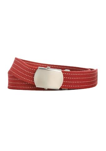 CASSANDRA Synthetikgürtel »Red«, mit Klemmschließe kaufen
