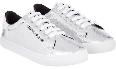 Calvin Klein Sneaker »SHARLENE«, in schimmernder Optik kaufen