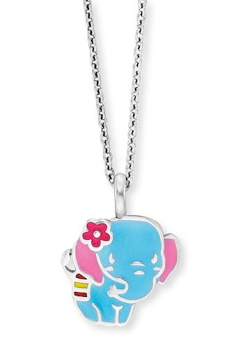 Herzengel Kette mit Anhänger »Elefant, HEN-ELEPHANT«, mit Emaille kaufen