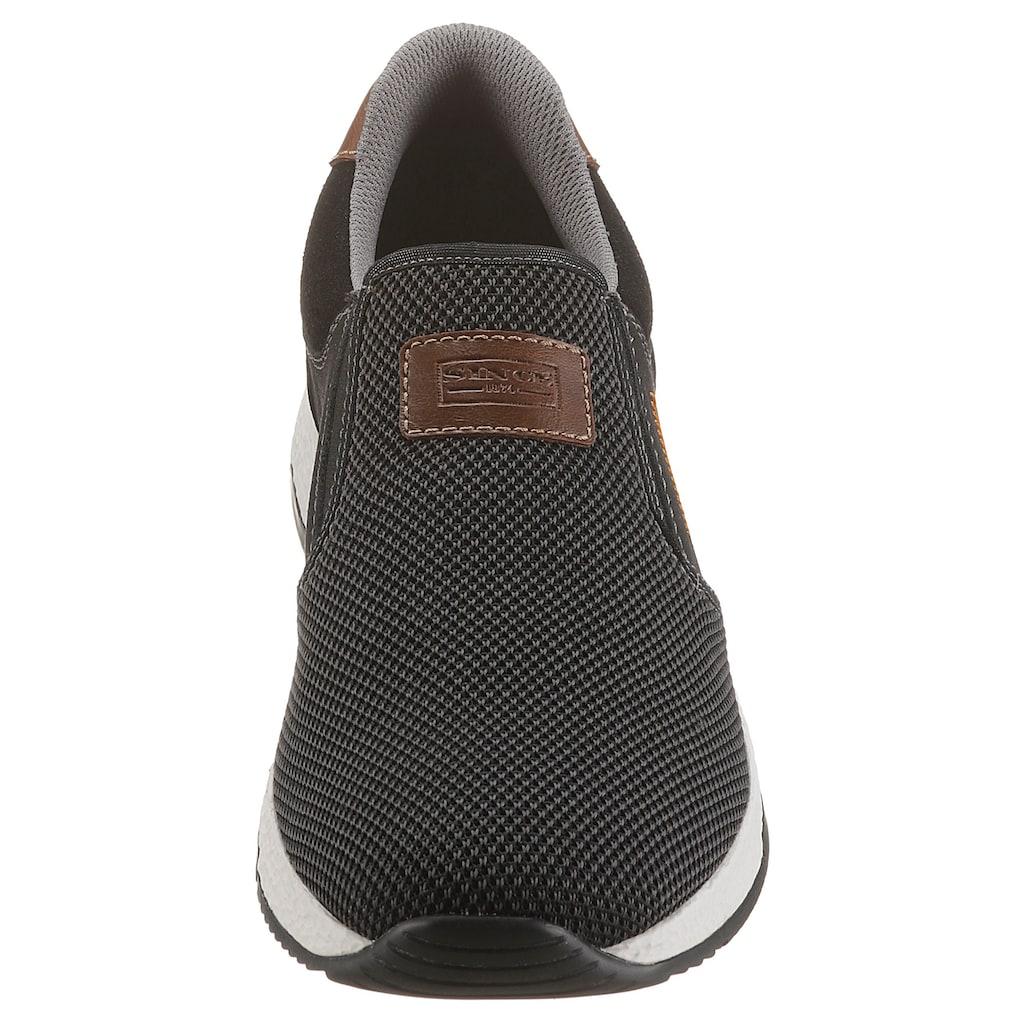 Rieker Slip-On Sneaker, mit praktischen Stretcheinsätzen