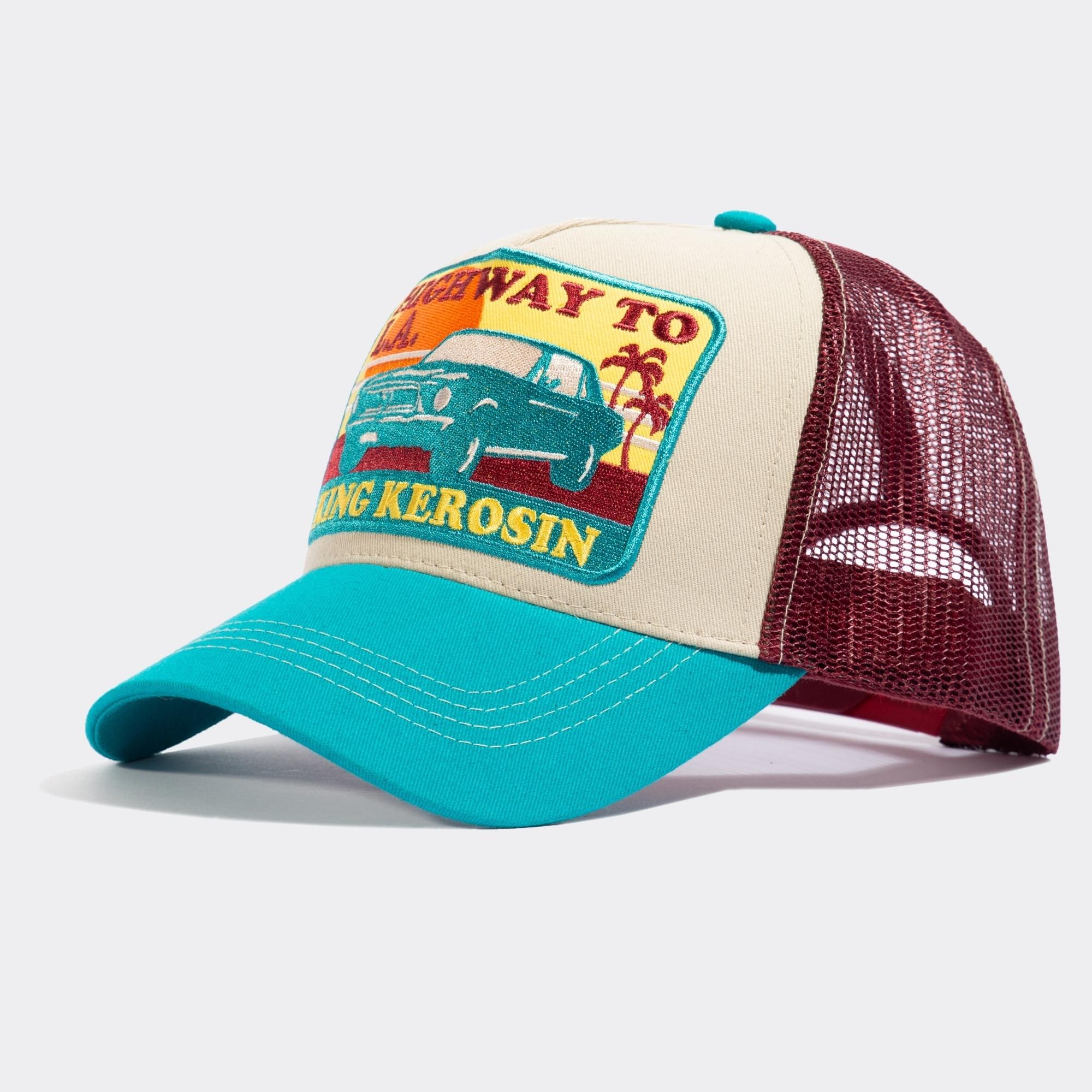 kingkerosin -  Trucker Cap Highway to LA, mit coolem Retro-Patch