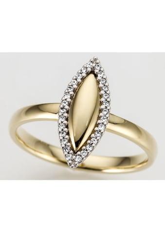 Firetti Goldring »Oval, Glanzoptik, bicolor, massiv« kaufen