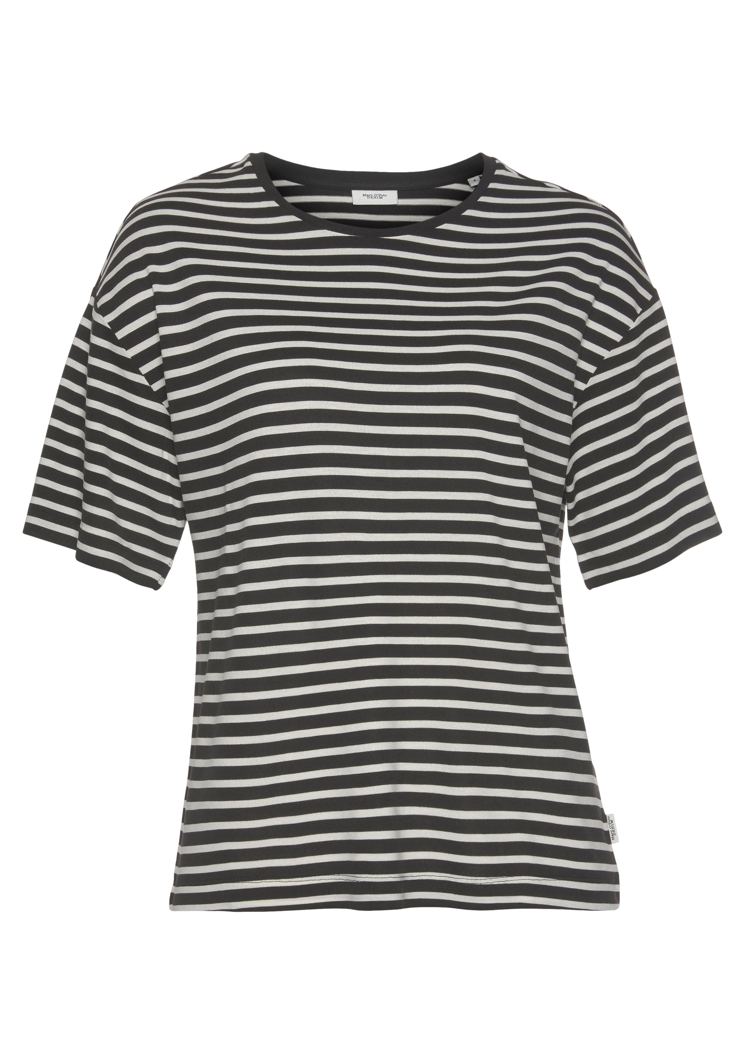 marc o'polo denim -  T-Shirt, mit tollem Ringelmuster