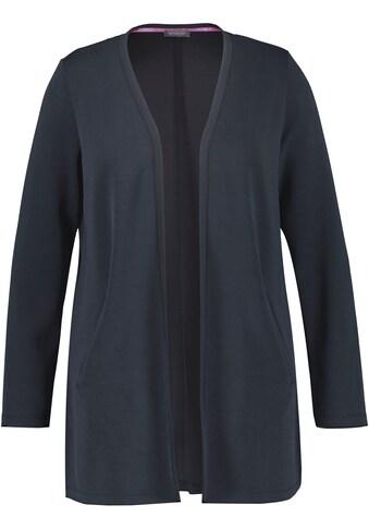 Samoon Strickjacke, in verschlussloser Form kaufen