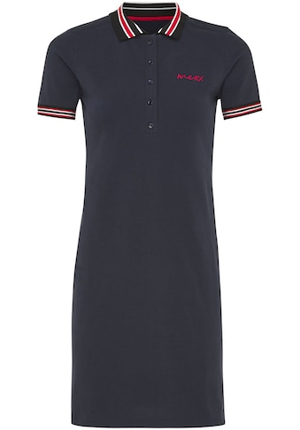 Mexx Jerseykleid, mit Polo-Kragen und Kontrast-Details kaufen