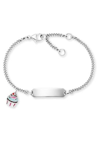 Herzengel Armband »ID Muffin, HEB-ID-MUFFIN«, mit Emaille kaufen