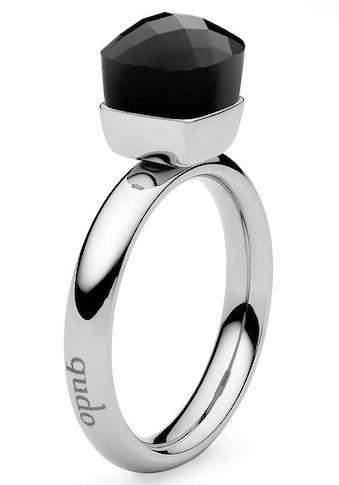 qudo Fingerring »Firenze small, 636431«, mit Glasstein kaufen
