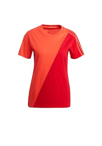 adidas Originals T-Shirt »ADICOLOR SLICED TREFOIL REGULAR« kaufen