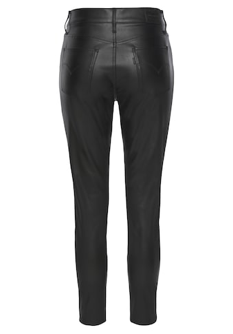 Levi's® Slim - fit - Jeans »720 Faux Leather Ankle« kaufen