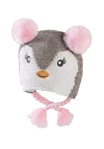 Chaplino Bommelmütze, mit Bommeln und Pinguin-Gesicht kaufen