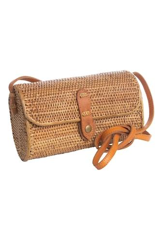 CASSANDRA Schultertasche »Bali Bag«, in geflochtener Korboptik kaufen