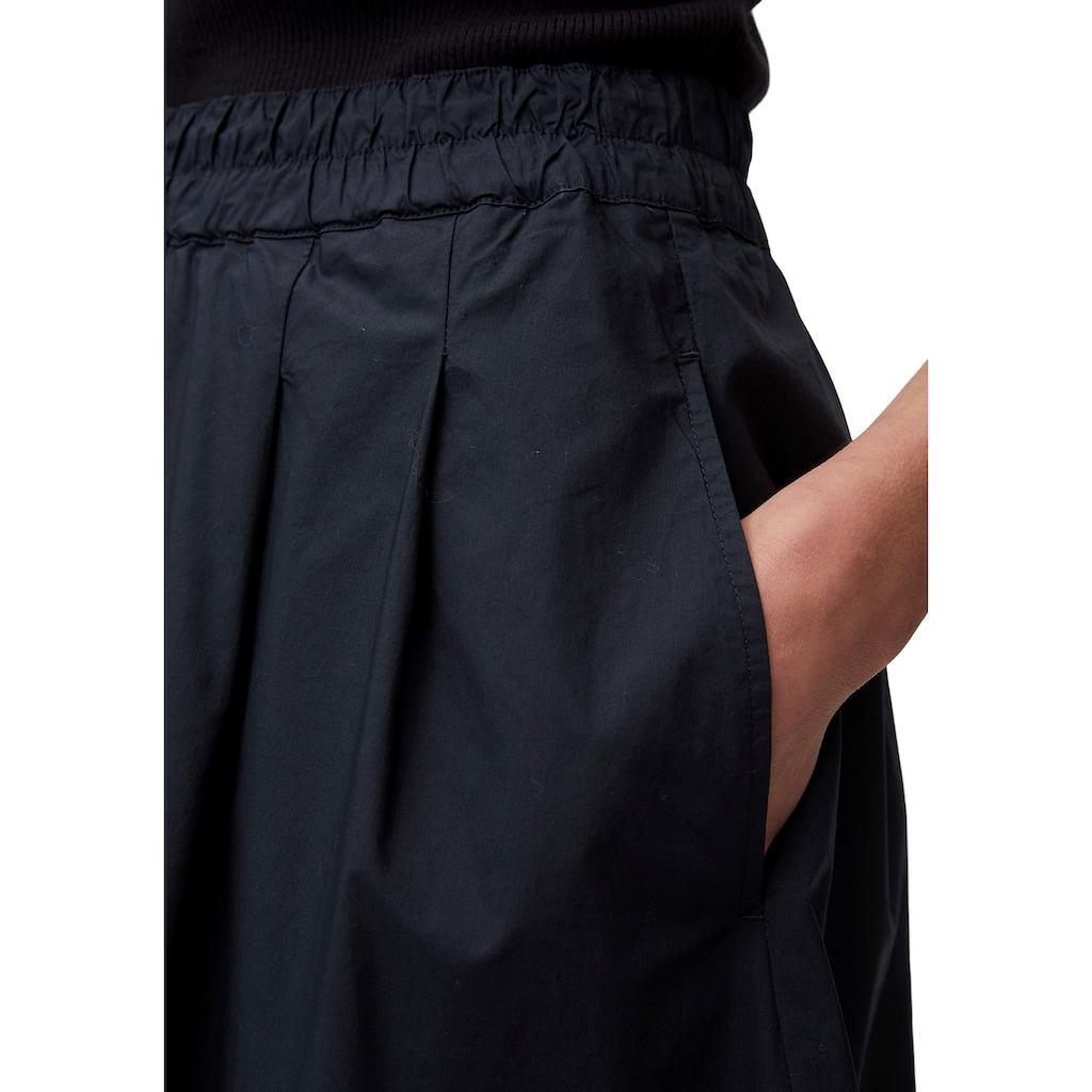Marc O'Polo A-Linien-Rock, mit bequemen Gummizug in der Taille