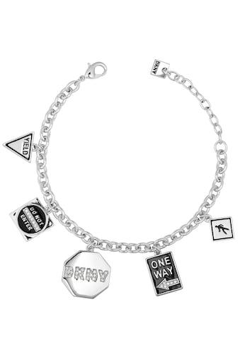 DKNY Armband »NYC Street Sign Charm BR (RH), 5547984«, mit Swarovski® Kristallen und... kaufen