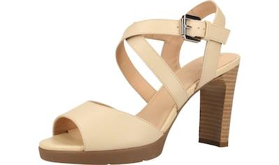 Geox High-Heel-Sandalette »Nappaleder« kaufen