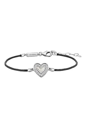 Julie Julsen Armband »Amore, Herz, JJBR0321.1«, mit Zirkonia kaufen