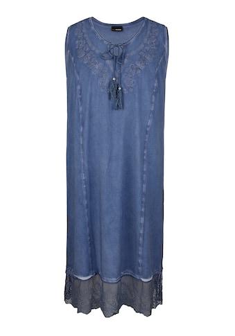 MIAMODA Sommerkleid, in Oil Washed Optik kaufen