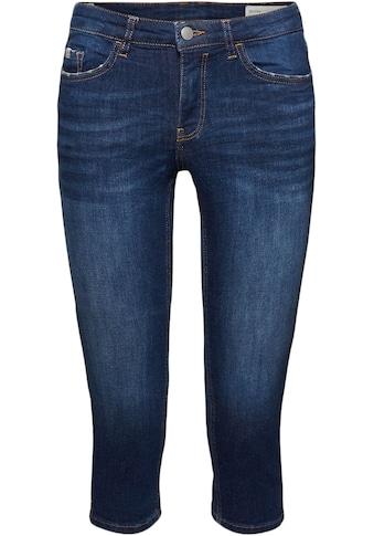 edc by Esprit 3/4-Jeans, mit seitlichen Schlitzen kaufen