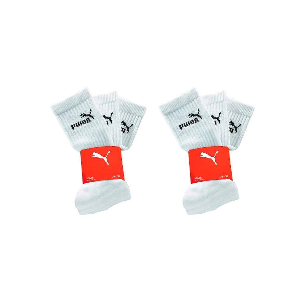 PUMA Sportsocken (6 Paar)