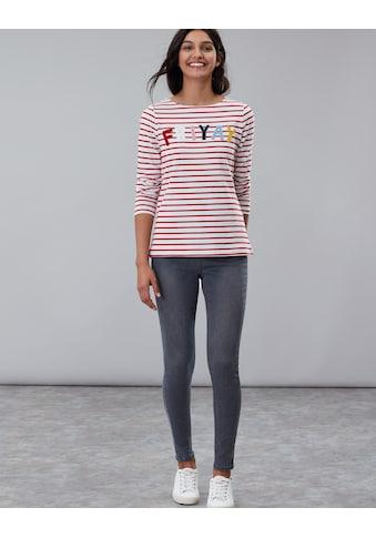 Tom Joule Sweater mit lustigem Print »Harbour Luxe geringelt« kaufen