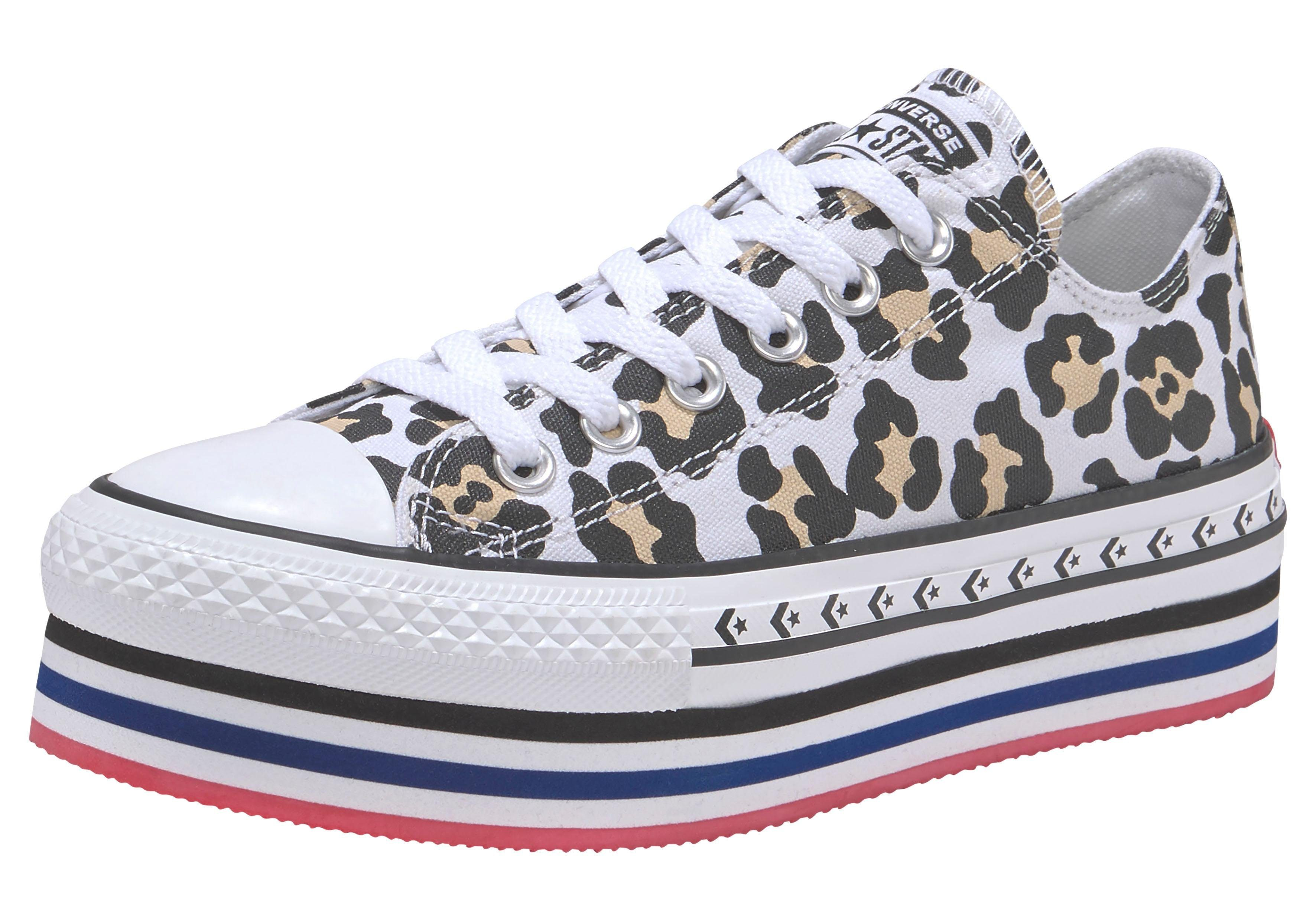 Converse Sneaker Chuck Taylor All Star Platform Layer Ox