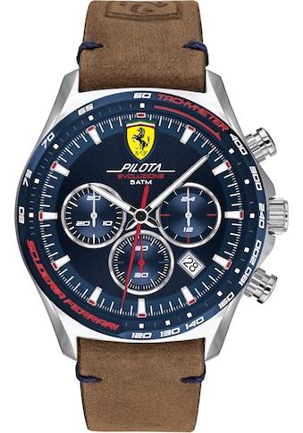 Scuderia Ferrari Chronograph »PILOTA EVO, 830711« kaufen