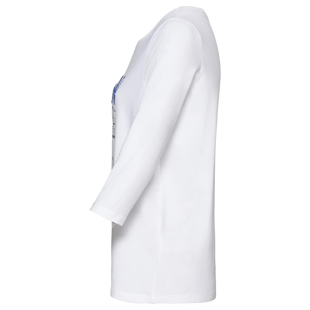 bianca T-Shirt »DINI«, mit coolem Statementprint