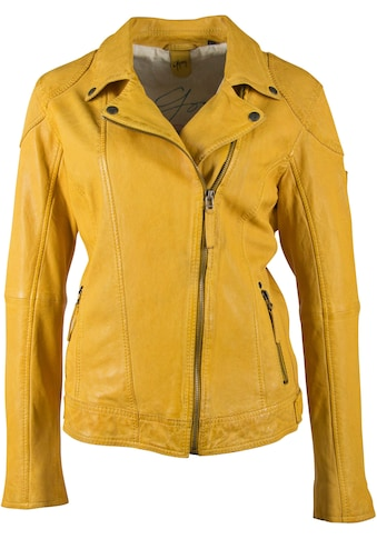 Gipsy Lederjacke »Shakee«, im Biker-Look aus hochwertigem Lammnappaleder kaufen