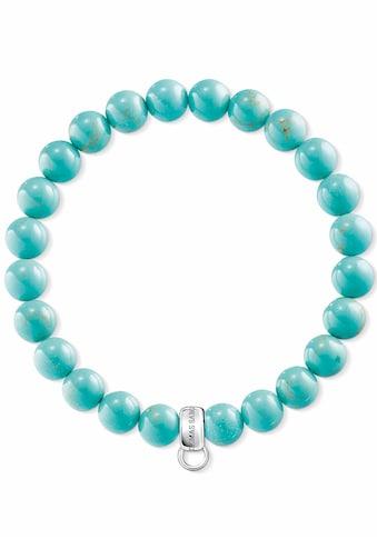 THOMAS SABO Charm - Armband »Türkis, X0213 - 404 - 17« kaufen