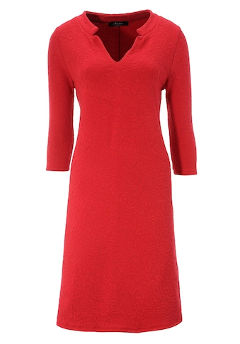 Aniston SELECTED Jerseykleid, in edel strukturierter Ware kaufen