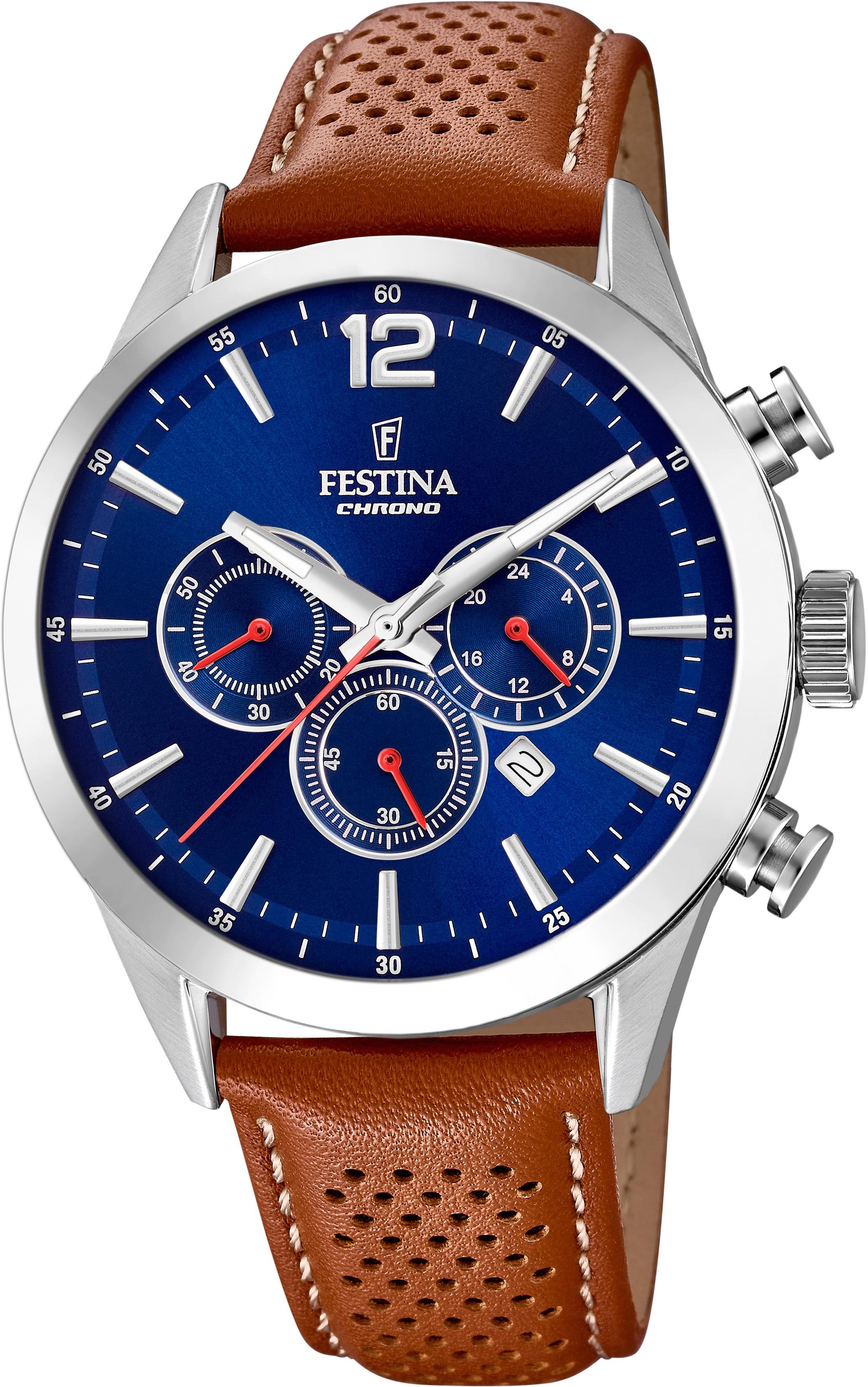 festina -  Chronograph Timeless Chronograph, F20542/3