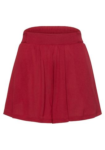 LASCANA Shorts, in weiter Form mit Bindeband kaufen