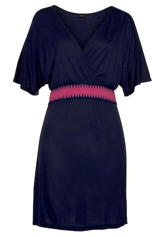 LASCANA Strandkleid, mit Gummi in der Taille kaufen