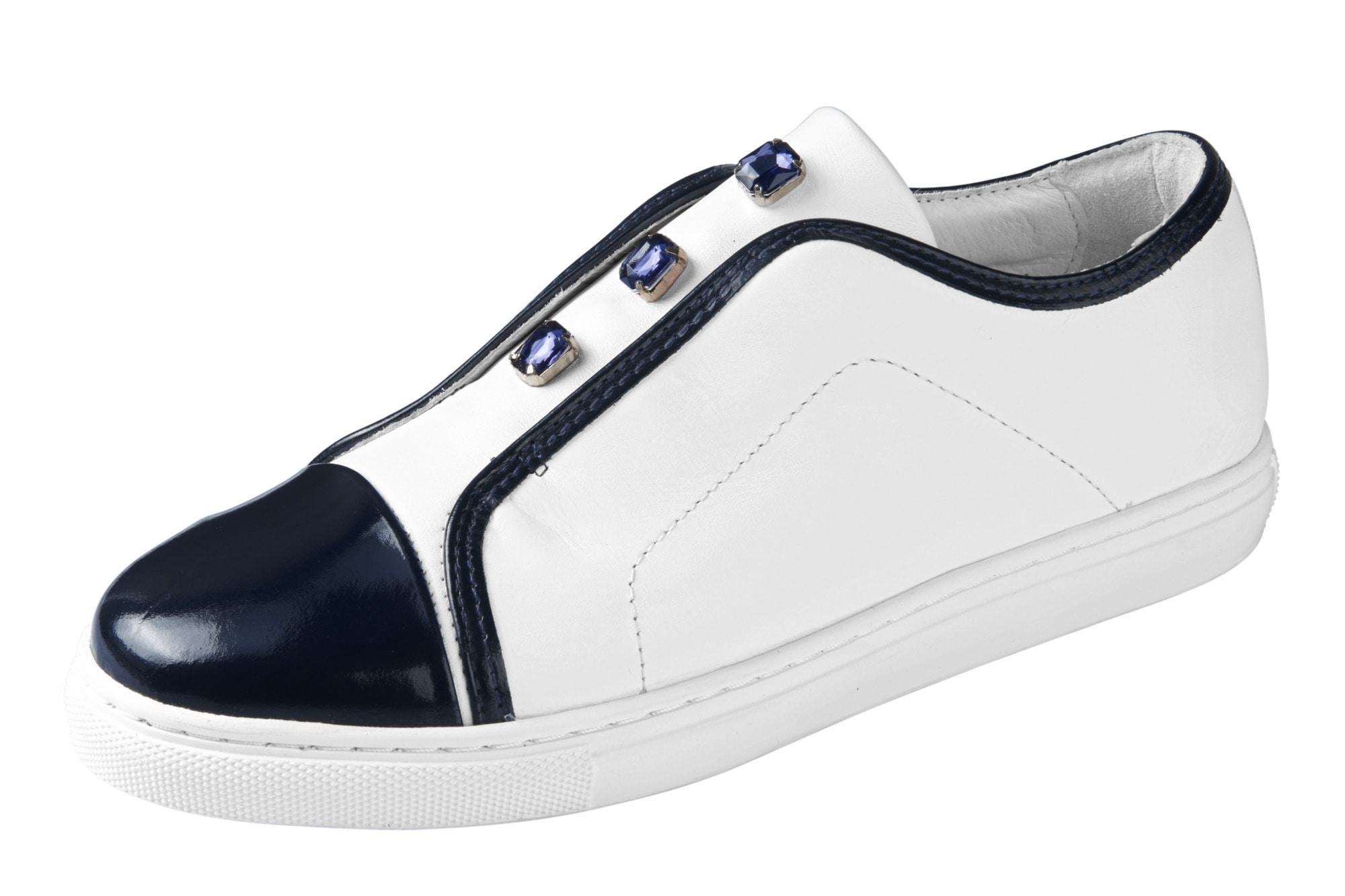 heine -  Sneaker mit Schmucksteinen
