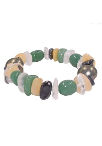 Firetti Armband »Edelstein«, Made in Germany - mit Edelsteinen und Muschelkernperle kaufen