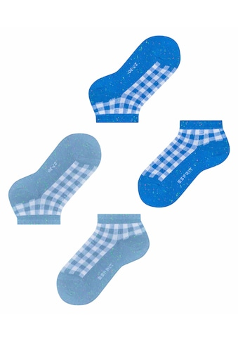 Esprit Sneakersocken »Pixel Checks 2-Pack«, (2 Paar), mit Karo Muster kaufen